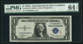 Small Size:Silver Certificates, Fr. 1610 $1 1935A S Silver Certificate. PMG Choice Uncirculated 64 EPQ.. ...