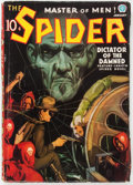 Pulps:Hero, The Spider - January 1937 (Popular) Condition: VG....