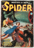 Pulps:Hero, The Spider - February 1936 (Popular) Condition: VG-....
