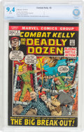 Bronze Age (1970-1979):War, Combat Kelly #2 (Marvel, 1972) CBCS NM 9.4 White pages....