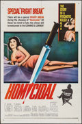Movie Posters:Horror, Homicidal & Other Lot (Columbia, 1961). One Sheet ...