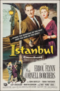 "Movie Posters:Adventure, Istanbul (Universal International, 1957). One Sheet (27"" X 41"").Adventure.. ..."