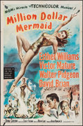 """Movie Posters:Musical, Million Dollar Mermaid (MGM, 1952). One Sheet (27"""" X 41""""). Musical.. ..."""