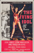 """Movie Posters:Adventure, The Living Idol (MGM, 1956). One Sheet (27"""" X 41""""). Adventure.. ..."""