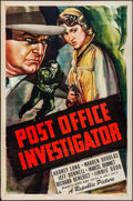 """Movie Posters:Crime, Post Office Investigator (Republic, 1949). One Sheet (27"""" X 41"""").Crime.. ..."""