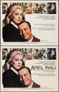 "The April Fools & Others Lot (National General, 1969). Half Sheets (2) (22"" X 28""), Lobby Cards (3) (1..."