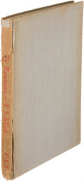 Books:Literature 1900-up, T. S. Eliot. The Family Reunion. London: [1939]. Firstedition, inscribed....