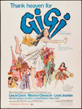 "Movie Posters:Musical, Gigi (MGM, R-1966). Posters (2) Identical (30"" X 40""). Musical..... (Total: 2 Items)"