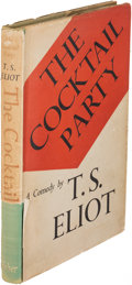 Books:Literature 1900-up, T. S. Eliot. The Cocktail Party. London: [1950]. Firstedition, inscribed....