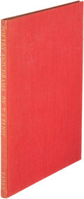 Books:Literature 1900-up, T. S. Eliot. Poetry and Drama. London: [1951]. First Englishedition, inscribed....