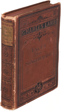 [T. S. Eliot, association]. Charles Lamb. Tales from Shakespeare. Boston: 1879. Houghton editio