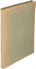 Books:Literature 1900-up, [T. S. Eliot, contributor]. American Poets. Munich: [1923]. First edition, inscribed.. ...