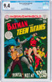 The Brave and the Bold #83 Batman and the Teen Titans (DC, 1969) CGC NM 9.4 White pages