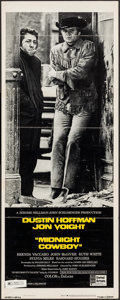 "Movie Posters:Academy Award Winners, Midnight Cowboy (United Artists, 1969). Insert (14"" X 36"") X-RatedStyle. Academy Award Winners.. ..."
