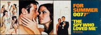 """The Spy Who Loved Me (United Artists, 1977). Banner (20.75"""" X 59.25""""). James Bond"""