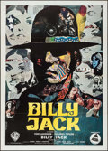 "Movie Posters:Action, Billy Jack (Warner Brothers, 1971). Italian 2 - Fogli (39"" X 55""). Action.. ..."