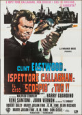 "Movie Posters:Crime, Dirty Harry (Warner Brothers, R-1970s). Italian 4 - Fogli (55"" X77""). Crime.. ..."
