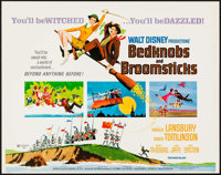 "Bedknobs and Broomsticks (Buena Vista, 1971). Rolled, Fine/Very Fine. Half Sheet (22"" X 28""). Animation"