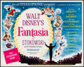 "Movie Posters:Animation, Fantasia (Buena Vista, R-1963). Half Sheet (22"" X 28""). Animation....."
