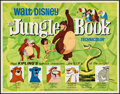 "Movie Posters:Animation, The Jungle Book (Buena Vista, 1967). Half Sheet (22"" X 28"").Animation.. ..."