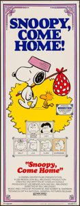 "Movie Posters:Animation, Snoopy, Come Home! (National General, 1972). Insert (14"" X 36""). Animation.. ..."