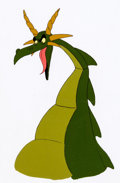 Animation Art:Production Cel, The 13 Ghosts of Scooby-Doo Dragon P...