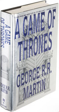 Books:Science Fiction & Fantasy, George R. R. Martin. A Game of Thrones. New York: [1996].First U. S. edition, signed.. ...