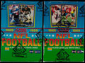 Football Cards:Boxes & Cases, 1989 Score Football Unopened Box Pair (2) - Each With 36 Unopened Packs....