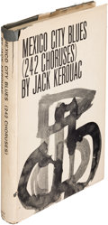 Books:Literature 1900-up, Jack Kerouac. Mexico City Blues. New York: [1959]. Firstedition....