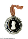 Political:Small Miscellaneous (pre-1896), Very Rare and Sought-After Large 1840 William Henry Harrison Sulfide. In our opinion, one of the truly great political artif...