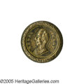 Political:Tokens & Medals, Very Rare Variant of 1844 Henry Clay Brass Shell Medalist. Listed, but unpictured, by Sullivan as HC 1844-45, it differs f...