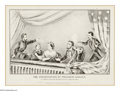 Political:Posters & Broadsides (pre-1896), Fine 1865-Dated Currier & Ives Print of Lincoln's Assassination. Evocative print of the scene in the President's box at Ford...