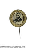 Political:Ferrotypes / Photo Badges (pre-1896), Virtually Mint Example of This Rare and Distinctive 1872 U.S. GrantFerrotype Pin. Attributable to the (scarcer) 1872 campai...