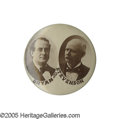 """Political:Pinback Buttons (1896-present), Pristine Example of a Scarce 1 1/4"""" 1900 Bryan & Stevenson Variety Absolutely mint and unimprovable example of this attract..."""