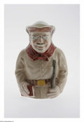 Political:3D & Other Display (1896-present), Marvelous Teddy Roosevelt Ceramic Toby Mug This charming mug haslon been considered one of the very best TR 3-D items! Wond...