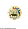 Political:Pinback Buttons (1896-present), Rare and Distinctive 1904 Parker & Davis Jugate Variety. Thisparticular auction features a truly historic selection of stan...