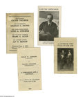"""Political:Small Paper (1896-present), Very Nice Calvin Coolidge Pamphlet Lot of Six, Including 1920 """"Hopeful"""" Items. Three rare 1920 presidential """"hopeful"""" pamphl..."""