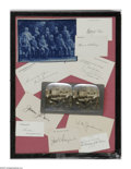 Autographs:U.S. Presidents, Autograph Collection of President Calvin Coolidge's Cabinet.Missing only Herbert Hoover (Commerce Secretary), whose signatu...