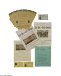 Political:3D & Other Display (1896-present), 1924 Home Town Coolidge Club Collection Calvin Coolidge was the favorite son of Plymouth, Vermont. He was the running mate o...