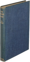 Books:Literature 1900-up, T. S. Eliot. The Sacred Wood. London: 1928. Second edition,inscribed....