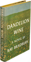 Books:Literature 1900-up, Ray Bradbury. Dandelion Wine. Garden City: 1957. Firstedition, signed....