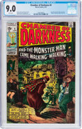 Bronze Age (1970-1979):Horror, Chamber of Darkness #4 (Marvel, 1970) CGC VF/NM 9.0 White pages....