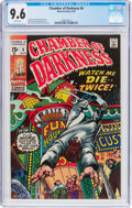 Bronze Age (1970-1979):Horror, Chamber of Darkness #6 (Marvel, 1970) CGC NM+ 9.6 White pages....