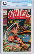 Bronze Age (1970-1979):Horror, Creatures on the Loose #10 (Marvel, 1971) CGC NM- 9.2 Whitepages....