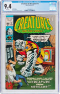 Bronze Age (1970-1979):Horror, Creatures on the Loose #13 (Marvel, 1971) CGC NM 9.4 Whitepages....