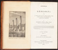 Books:Natural History Books & Prints, Charles Lysell. Principles of Geology... Philadelphia, Pittsburgh: 1837. First American edition.... (Total: 2 Items)