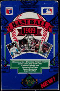 Baseball Cards:Unopened Packs/Display Boxes, 1989 Upper Deck Baseball Unopened Box With 36 Foil Packs....