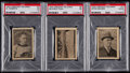 Hockey Cards:Lots, 1924 Crescent Ice Cream Selkirks PSA-Graded Trio (3). ...