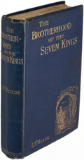 Books:Mystery & Detective Fiction, L. T. Meade and Robert Eustace. The Brotherhood of the SevenKings. London: 1899. First edition....