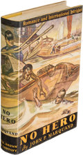 Books:Mystery & Detective Fiction, John P. Marquand. No Hero. Boston: 1935. First edition....
